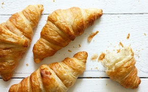 Picture cakes, croissants, Baking, Growing