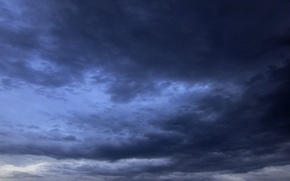 Picture clouds, mood, silence, The sky, bad weather
