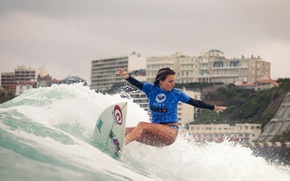 Picture sea, surfing, Alana Blanchard