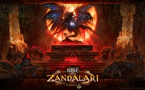 Picture wow, shaman, rise of the zandalar, sacrifice