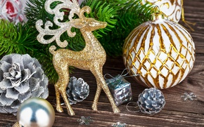 Picture decoration, New Year, Christmas, Christmas, wood, decoration, Merry