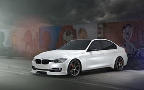 Picture BMW, Car, F30, 328, Wheel