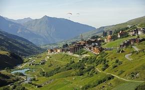 Picture the city, France, Rhône-Alpes, Savoie, Menuires
