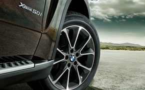 Picture BMW, SUV, disk, spokes, M-package