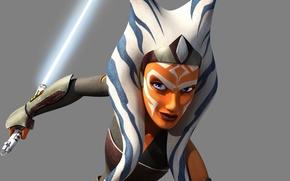 Picture animated series, Star wars: Rebels, Lucasfilm, Ahsoka Tano, Ahsoka, Hairpin, Jedi returns, Star Wars: Rebels