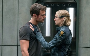 Picture Theo James, Behind the wall, The Divergent Series:Allegiant, Shailene Woodley, Divergent