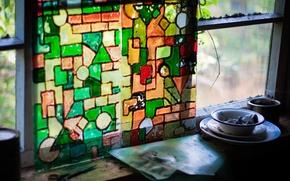 Picture color, stuff, mosaic