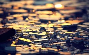 Picture the sun, love, dreams, happiness, sunset, heart, construction, Glass, broken, broken
