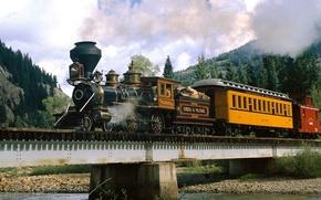 Wallpaper River, The engine, Colorado