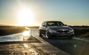 Picture BMW, Carbon, Front, Black, Sun, Matte, F80, Mode