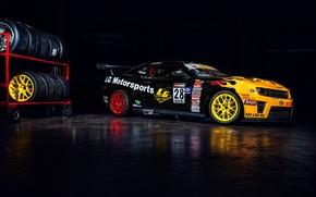 Picture yellow, black, Chevrolet, wheel, sport, Chevrolet, black, camaro, yellow, Motorsport, Camaro