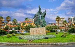 Picture landscape, area, monument, Spain