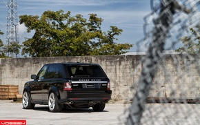 Picture car, Sport, Machine, Land Rover, SUV, vossen, Sport, Cars, Land, Rover, back, Land Rover, Range …