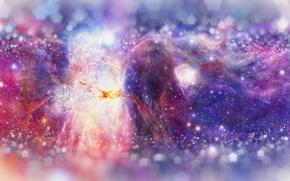 Picture space, stars, nebula, galaxy, nebula