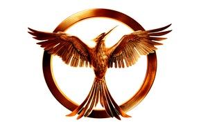 Picture logo, mockingjay, mockingjay