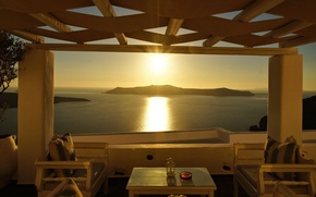 Picture summer, stay, view, Greece, panorama, resort, Notio Aigaio, Thira, Hotel Agali Houses Santorini