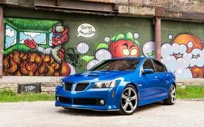 Picture Pontiac, Graffiti