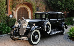 Picture Five, Luxury, Car, Passenger, Cadillac, V12, Phaeton, 1931