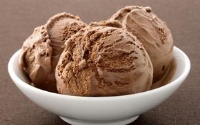 Picture macro, food, sweet, chocolate, Ice cream, dish