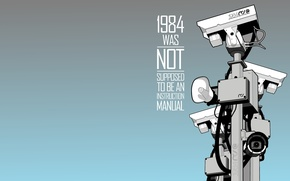 Picture camera, 1984, big brother