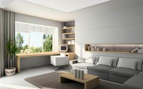 Picture design, room, interior