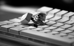 Wallpaper star wars, clone, keyboard