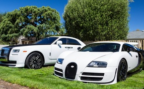 Picture Rolls-Royce, Bugatti, Veyron, Ghost