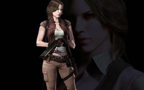 Picture gun, game, resident evil, biohazard, weapon, woman, resident evil 6, bsaa, elena harper