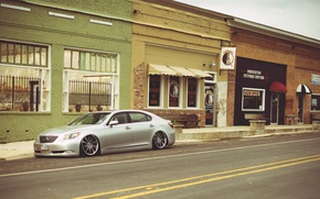 Picture street, lexus, Lexus, ls600