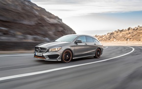 Picture Mercedes Benz, AMG, Sports, 4MATIC, 2015, CLA250, OrangeArt