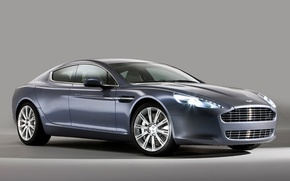 Picture auto, Aston Martin, dark blue