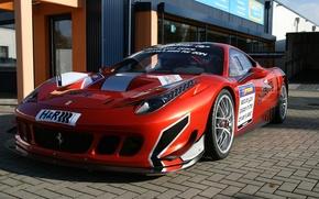 Picture Ferrari, 458, Racing
