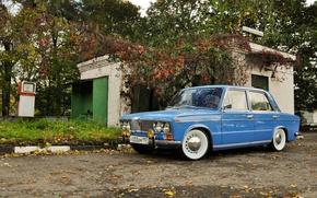 Picture background, car, classic, three, Lada, Lada, vaz, LADA, low classic, Resto, VAZ 2103