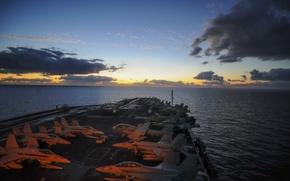 Picture Mediterranean Sea, USS Nimitz, transits