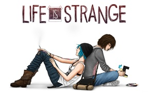 Picture Game, Max, Price, Chloe, Chloe, Max, Life Is Strange, Caulfield, Caulfield, Price