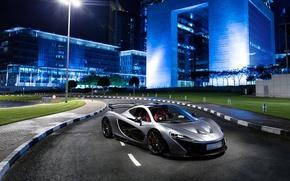 Picture McLaren, Supercar, Silver, Hypercar