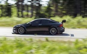 Picture Volvo, Profile, Black, S60, WTCC