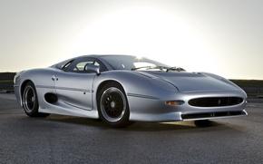 Picture jaguar, tuning, race, classic, xj220