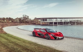 Picture McLaren, Red, Front, Sun, Supercar, Hypercar, Exotic, MSO