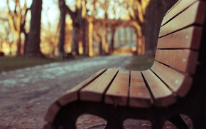 Picture macro, trees, bench, Park, background, Wallpaper, blur, shop, shop, wallpaper, square, bench, widescreen, background, macro, …