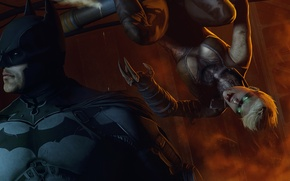 Picture girl, batman, hero, costume, villain, dc comics, fan art, Batman: Arkham Origins, arkham origins, copperhead