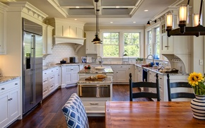 Picture interior, kitchen, design. house