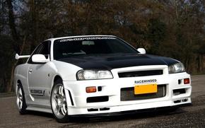 Picture Nissan, Skyline, R34, GTT