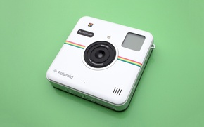 Picture high-tech, camera, photos, Polaroid, images, technology, cutting-edge technology, Polaroid socialmatic, photographic camera, Instagram