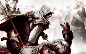 Picture death, Assassin 's Creed 2, battle axe, Ezio