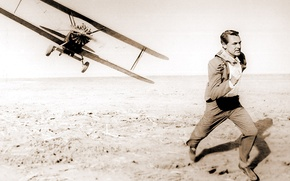 Picture movie, running, male, flight, the plane, the time
