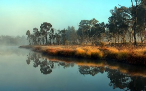 Picture landscape, nature, river