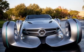 Picture the concept, Mercedes, car, Silver Arrow