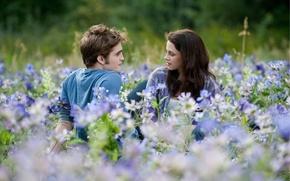 Wallpaper flowers, flowers, Kristen Stewart, Isabella, Robert Pattinson, Kristen Stewart, edward cullen, bella swan, twilight, twilight, ...