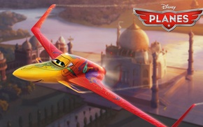 Picture cartoon, wings, adventure, Cars, rally, wings, Cars, Walt Disney, animation, action, Walt Disney, adventure, air …